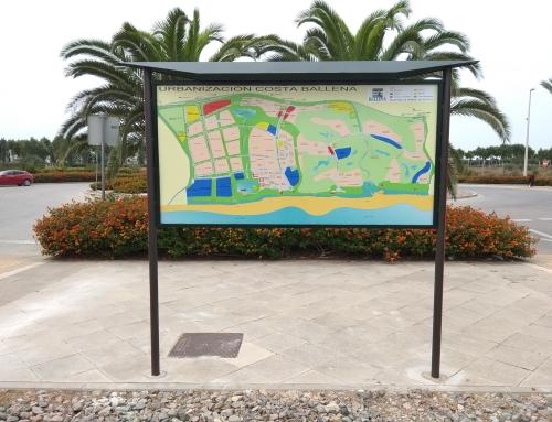 Instalados nuevos paneles informativos en Costa Ballena Chipiona